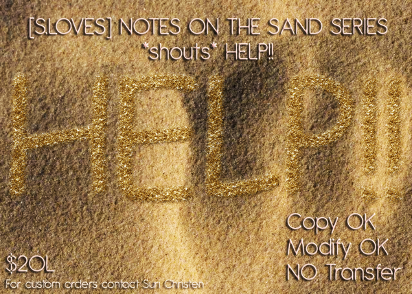 S.LOVES NOTES ON THE SAND WRITING SERIES