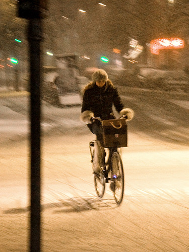 Copenhagen Winter Cycling Clothes