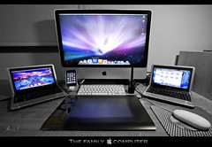 The family computer (WisoNet) Tags: snow apple mac imac osx leopard wacom minimac intuos tamarit hackintosh imac24 wisonet dell9 intuos4 thefamilycomputer