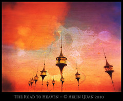 The Road to Heaven (Aelin Quan) Tags: sunset sky orange art photomanipulation 3d heaven avatar digitalart sl secondlife photomontage netart virtualphotographer ourtime gpc metaverse virtualworld virtualphotography roadtoheaven 25faves mywinners 100110 opensim platinumheartaward theroadtoheaven goldenart secondlifephotographers platinumbestshot theartlair aelinquan magicunicornverybest magicunicornmasterpiece trolledproud appologardens stonedigitalexperienceagency
