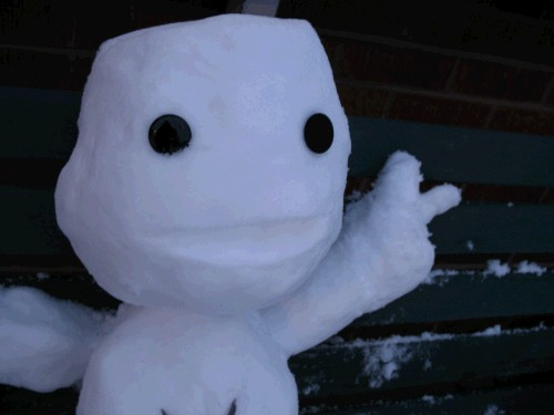 LittleBigPlanet - Sackboy Snowman