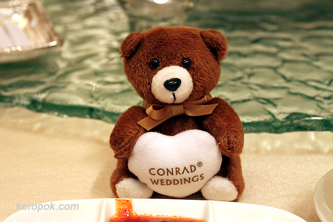Conrad Weddings Bear