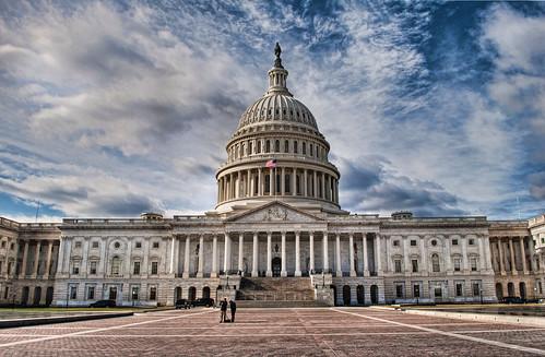フリー画像|人工風景|建造物/建築物|アメリカ合衆国議会議事堂 ...