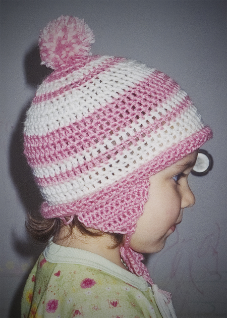 crochet hat first