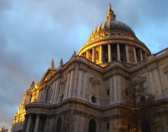 St. Paul's Cathedral at Dusk (Austrian Lancer) Tags: christmas vacation london st cathedral united kingdom pauls soe riceworld yahoo:yourpictures=bestofbritish yahoo:yourpictures=europeanmonuments