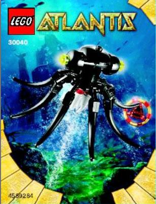 2010  LEGO Atlantis - 30040 Octopus