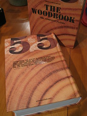 The Woodbook's back cover