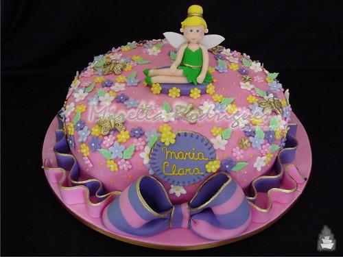 Bolo de aniversário da ''Sininho'' / Tinkerbell cake - a photo on ...