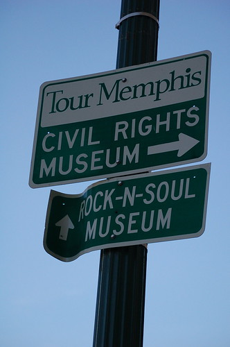 Museum sign, Memphis, Tenn.