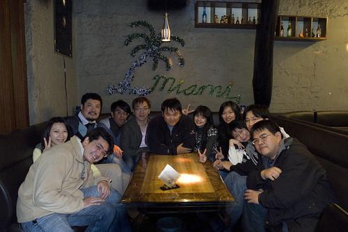攝影社聚餐 ivy 回國 小明生日