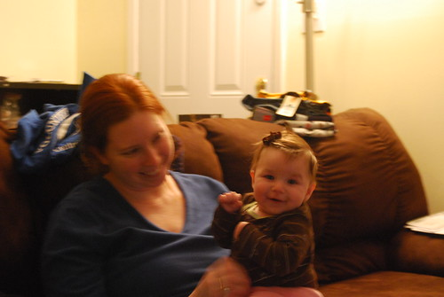 Mommy and Savannah