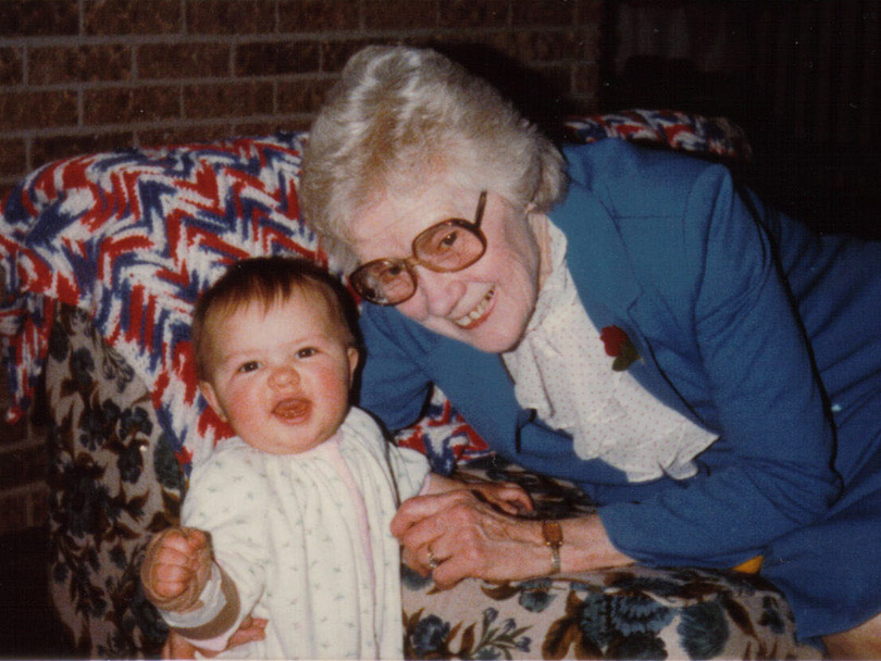 Sara and Grandma