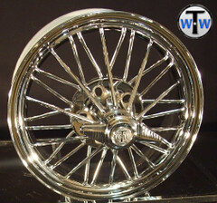 "Texan Wire Wheels 17"" '84 Super Poke (texanwirewheels) Tags: wheels wirewheels swangas 30spoke rimswirewheelsswangas30spoke30spokewheels"