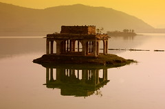Reflections at Jal Mahal Jaipur - gupara1234