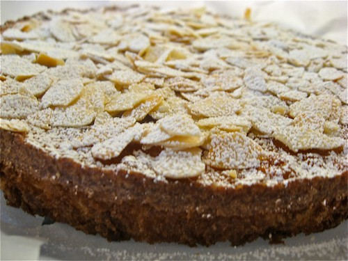 Almond Cake with Cranberry Orange Sauce | Life at No. 71