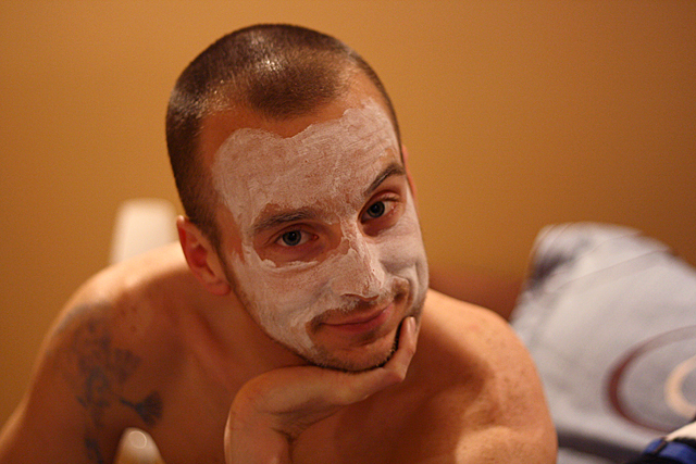 josh's face mask