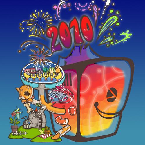 2010版頭-皮肉