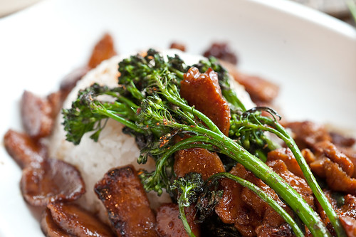 Seitan and Broccolini with Clementine Teriyaki