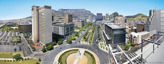 Cape Town pano (francoisNZ) Tags: street architecture buildings southafrica cityscape pano capetown panoramic tablemountain lionshead signalhill adderley heerengracht media24 francoisnz