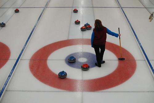 At the Granite Curling Club