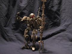 Clockwork Soldier (Jason Corlett) Tags: soldier robot lego clockwork bionicle