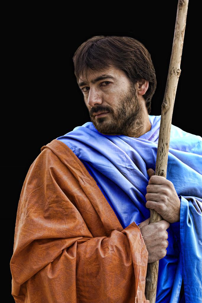 José Luis Nares como San Judas Tadeo. Fotografía de Eva Corral
