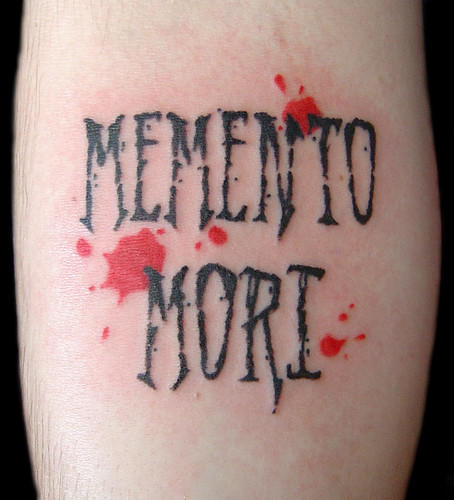 Memento Mori by Vintage Karma Tattoo Studio