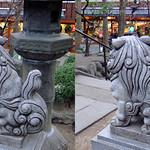 DSCF0937 浅草弁天堂の狛犬 komainu (parallel 3D) thumbnail