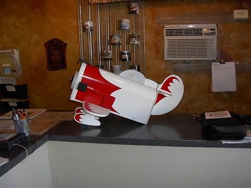 mailboxes Custom airplane