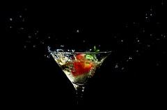 .. (Js) Tags: toronto motion glass fruit 50mm lights strawberry drink 50mmf18d liquid allover tsg spillover strobist tsg16