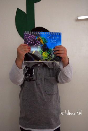 Holding my Calendar