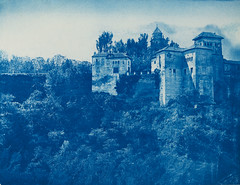 Alhambra, Granada, Spain (Swedish National Heritage Board) Tags: españa century andalucía spain alhambra granada spanien cyanotype xiii riksantikvarieämbetet theswedishnationalheritageboard castlesmansionsruins