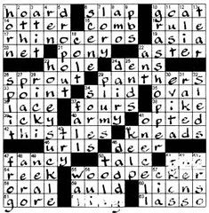 handwriting crossword fountainpen calligraphy puzzles sheaffer crosswords