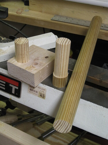 turning a floating tenon