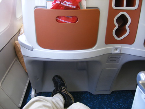on Air Mauritius