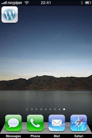 iPad iPhone Theme
