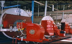 Λεβητοστάσιο 4 ατμολέβητες 2x14,15 & 22 τόνων καύσης υγραερίου και με δυνατότητα πετρελαίου