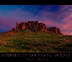 Superstition Sunset (inspir8tion) Tags: sunset arizona desert vibrant superstitionmountains apachejunction tontonationalforest