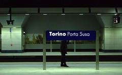Perdere la testa a Torino (Giampaolo Squarcina) Tags: station underground stazione nikond200 portasusa giampaolosquarcina