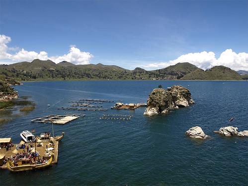 Islas Flotantes por riunegro.