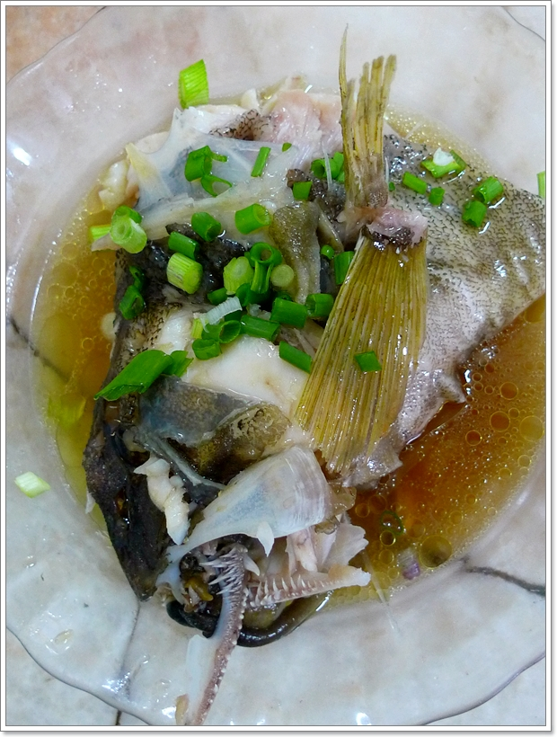 Fish Head in Soy Sauce