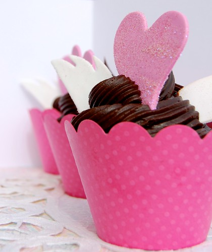San Valentin Cupcakes