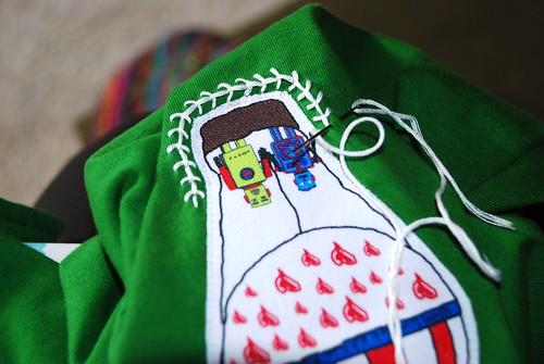 C.C.stitching