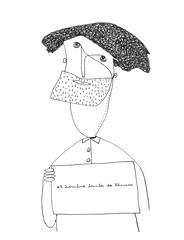 hombre barba de lluvia (Paulina Reyes Castro) Tags: illustration lluvia drawing retrato draw dibujos dibujo largo hombre barba pelo ilustración ilustraciones señor lápiz dibujar dibujito dibujillo paulinareyes