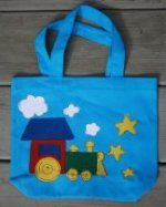 Blue Train for the Guy on the GO! Book Sack