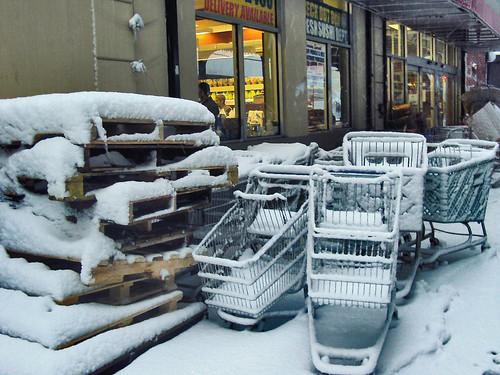 Snow Day - at Kosher Corner