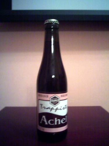 Achel Bruin bottle