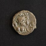 "<b>278 Reverse</b><br/> Busts of Nilus, Greek god of the Nile, and Euthenia, Greek spirit of prosperity. As the Nile was the life vein of much of Egypt, the two were linked closely, and minting coins with their images could be seen as honoring them, hoping for a prosperous harvest. The Regnal date L B indicates this coin was minted during the second year of Claudius Gothicus' reign, or AD268 -269.  Donated by Dr. Orlando ""Pip"" Qualley<a href=""http://farm5.static.flickr.com/4018/4351824222_0b52e3335c_o.jpg"" title=""High res"">∝</a>"