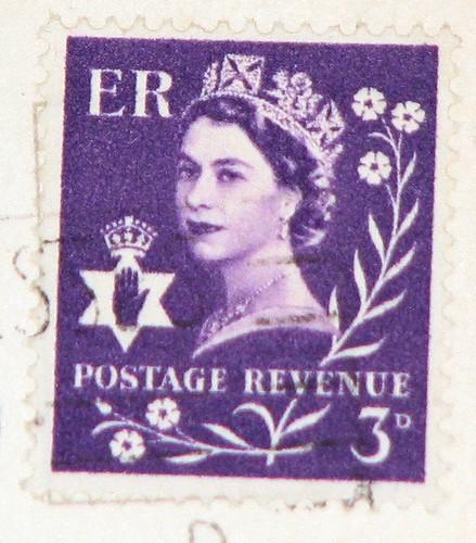 England Postage Stamp