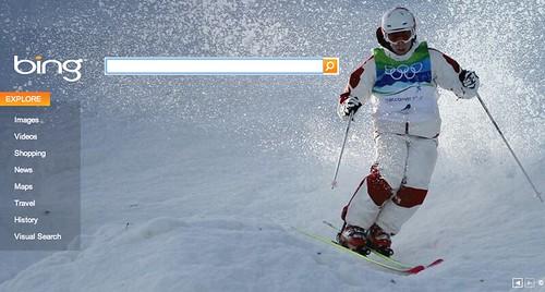 Bing Day 5 Olympics Logo